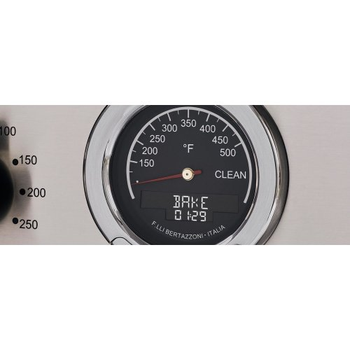 36 inch Dual Fuel Range, 6 Brass Burner, Electric Self-Clean Oven Bianco
