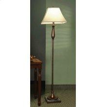Transitional Bronze Floor Lamp