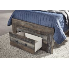 Twin Storage Footboard