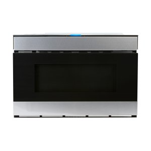 Sharp24 in. 1.2 cu. ft. 950W Sharp Stainless Steel Easy Wave Open Microwave Drawer Oven