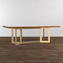 "MODERN 108"" Maple Astor Table"