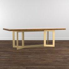 """MODERN 108"""" Maple Astor Table"""