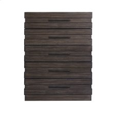 Stackhaus 5 Drawer Chest in Dark Brown