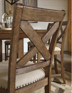 Moriville - Grayish Brown Set Of 2 Dining Room Barstools Product Image