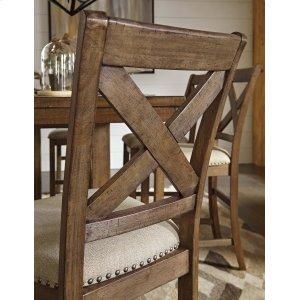 Ashley Furniture Moriville - Grayish Brown Set Of 2 Dining Room Barstools