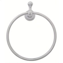 Chrome Opulence® Towel Ring