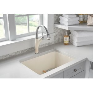 Blanco Artona With Pull-down Spray - Biscuit