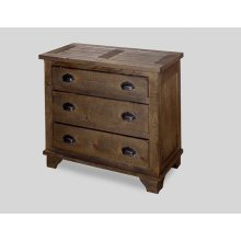 Industrial Chest - Pine Cone Finish