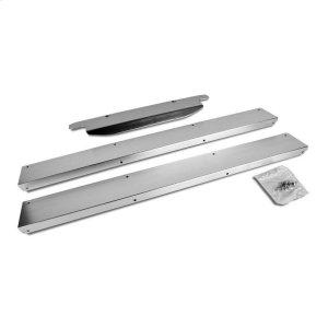 """Whirlpool15"""" 50# Ice Maker Trim Kit For 3/4 Door Models- Stainless Steel"""