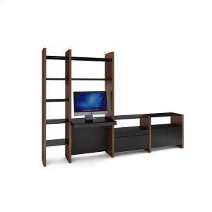 Bdi Furniture5464 Dk in Chocolate Stained Walnut Black