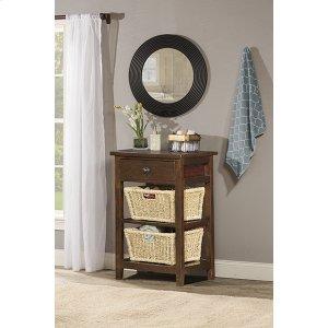 Hillsdale FurnitureTuscan Retreat(r) 2 Basket Stand - Rustic Mahogany