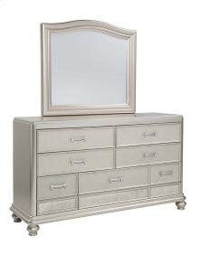 Coralayne - Silver 2 Piece Bedroom Set