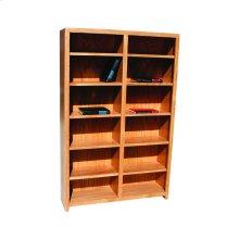 """Pacific Urban Alder 48"""" Standard Bookcase"""