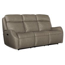 Living Room Sandovol Power Recliner Sofa w/ Power Headrest