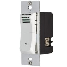 Humidity Sensing Wall Control in White