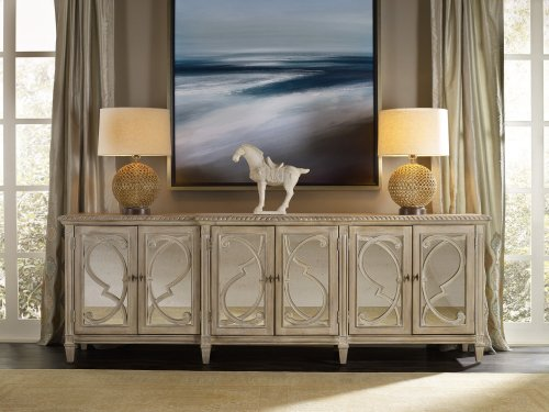 Living Room Solana Six Door Console