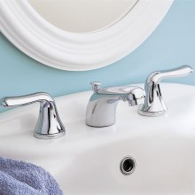 Colony Soft 2-Handle 8 Inch Widespread Bathroom Faucet - Polished Chrome