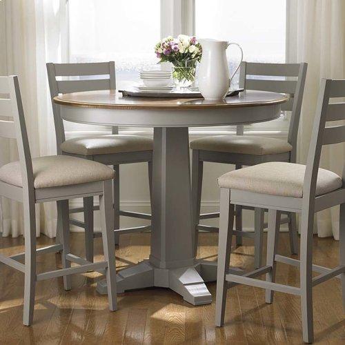 "Custom Dining 48"" Round Pedestal Table"