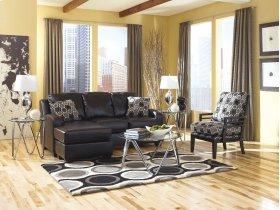Sofa Chaise set  Devin DuraBlend - Black Collection
