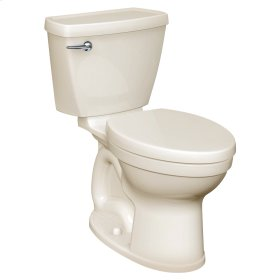 Champion 4 Right Height Round Front Toilet - 1.28 GPF - Linen