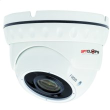 Manual Varifocal Dome Camera POE IP 5MP - White