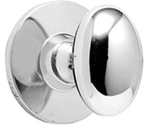 Polished Nickel Bathroom thumb turn, concealed fix (USA only)