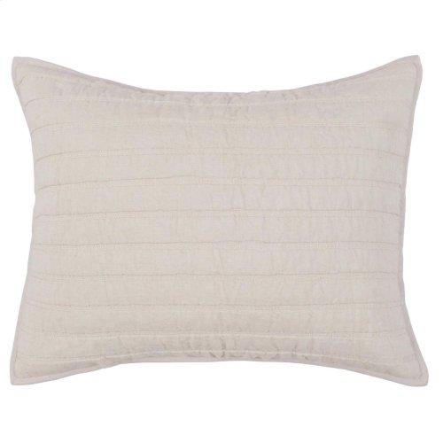 Heirloom Natural Quilt Standard Sham Set