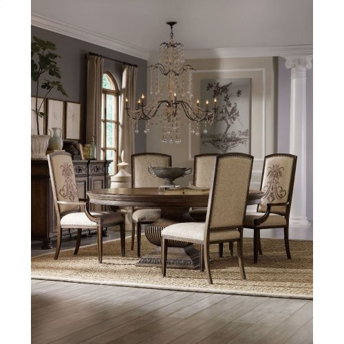 Dining Room Rhapsody Round Dining Table Base