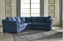 Darcy - Blue 2 Piece Sectional