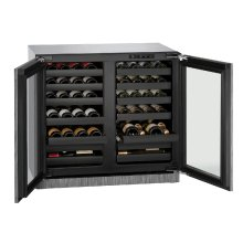 "Modular 3000 Series 36"" Wine Captain® Model With Integrated Frame Finish and Double Doors Door Swing (115 Volts / 60 Hz)"
