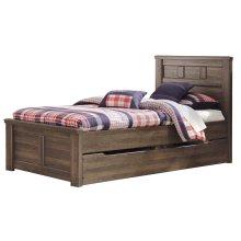 Juararo - Dark Brown 5 Piece Bed Set (Twin)