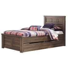 Juararo - Dark Brown 5 Piece Bed Set (Twin)