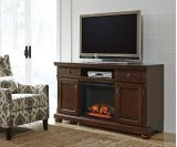 Porter - Rustic Brown 2 Piece Entertainment Set Product Image