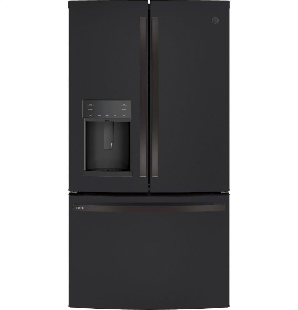 GE ProfileGe Profile™ Series Energy Star® 27.7 Cu. Ft. French-Door Refrigerator With Hands-Free Autofill