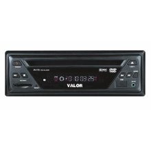 Single Din Size In-Dash DVD Player with USB/SD Card Reader