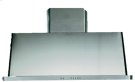 """Stainless Steel with Stainless Steel Trim 48"""" Range Hood with Warming Lights Product Image"""