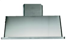 """Stainless Steel with Stainless Steel Trim 48"""" Range Hood with Warming Lights"""