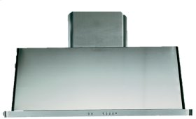 "Stainless Steel with Stainless Steel Trim 48"" Range Hood with Warming Lights"