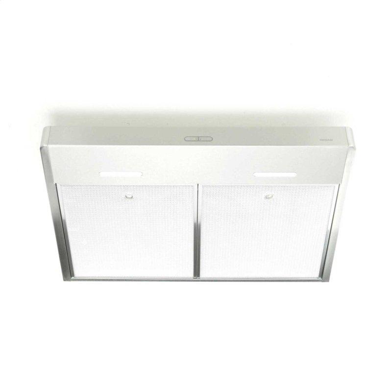 Tenaya 2 30-inch 300 CFM Stainless Steel Under-Cabinet Range Hood with LED light