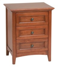 GAC 3-Drawer McKenzie Nightstand Product Image