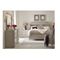 Cinema by Rachael Ray Panel Bed, Queen 5/0 Product Image