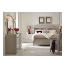 Cinema by Rachael Ray Panel Bed, King 6/6