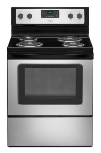 Whirlpool™ 4.8 Cu. Ft. Freestanding Electric Range with AccuBake™ System