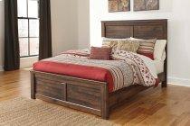 Quinden - Dark Brown 3 Piece Bed Set (Queen) Product Image