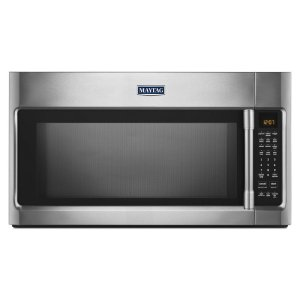 Over-The-Range Microwave Wide WideGlide Tray - 2.1 Cu. Ft. - FINGERPRINT RESISTANT STAINLESS STEEL