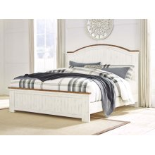 Wystfield - White/Brown 3 Piece Bed Set (King)