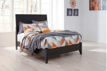 Daltori - Black 2 Piece Bed Set (Full)