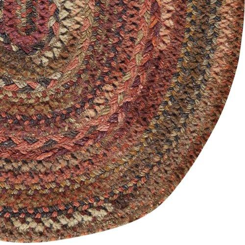 Bayview Cinnabar Braided Rugs (Custom)