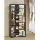 Casual Dark Cappuccino Bookcase Product Image