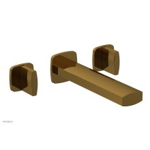 RADI Wall Tub Set - Blade Handles 181-56 - French Brass
